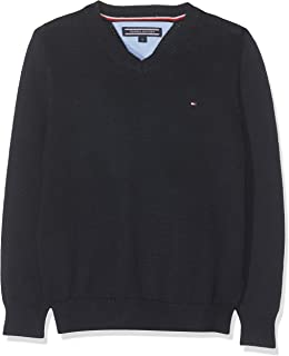 Tommy Hilfiger Boys Basic V-Neck Sweater suéter para Niños
