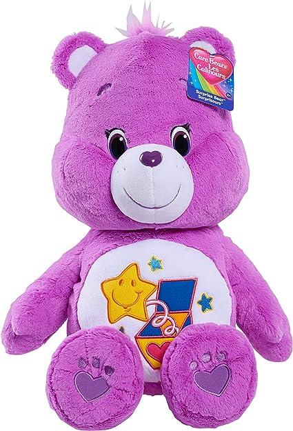 Message Recorder Stuffed Animals, Amazon Com Care Bears International Jumbo Plush Surprise Toys Games