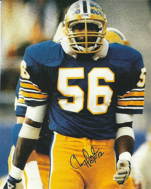 Autographed Chris Nashville-Davidson Mall Doleman 8X10 Panthers Photo Don't miss the campaign Pitt