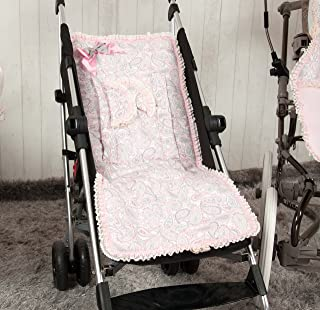 Amazon.es: Colchoneta para sillas de paseo pasito a pasito: Bebé