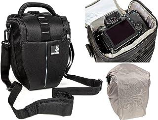 Bolsa de Funda BODYGUARD Colt L Bolso de cámara con Protector de Lluvia Pra Todas Las cámaras SLR con un Objetivo de hasta 22 cm