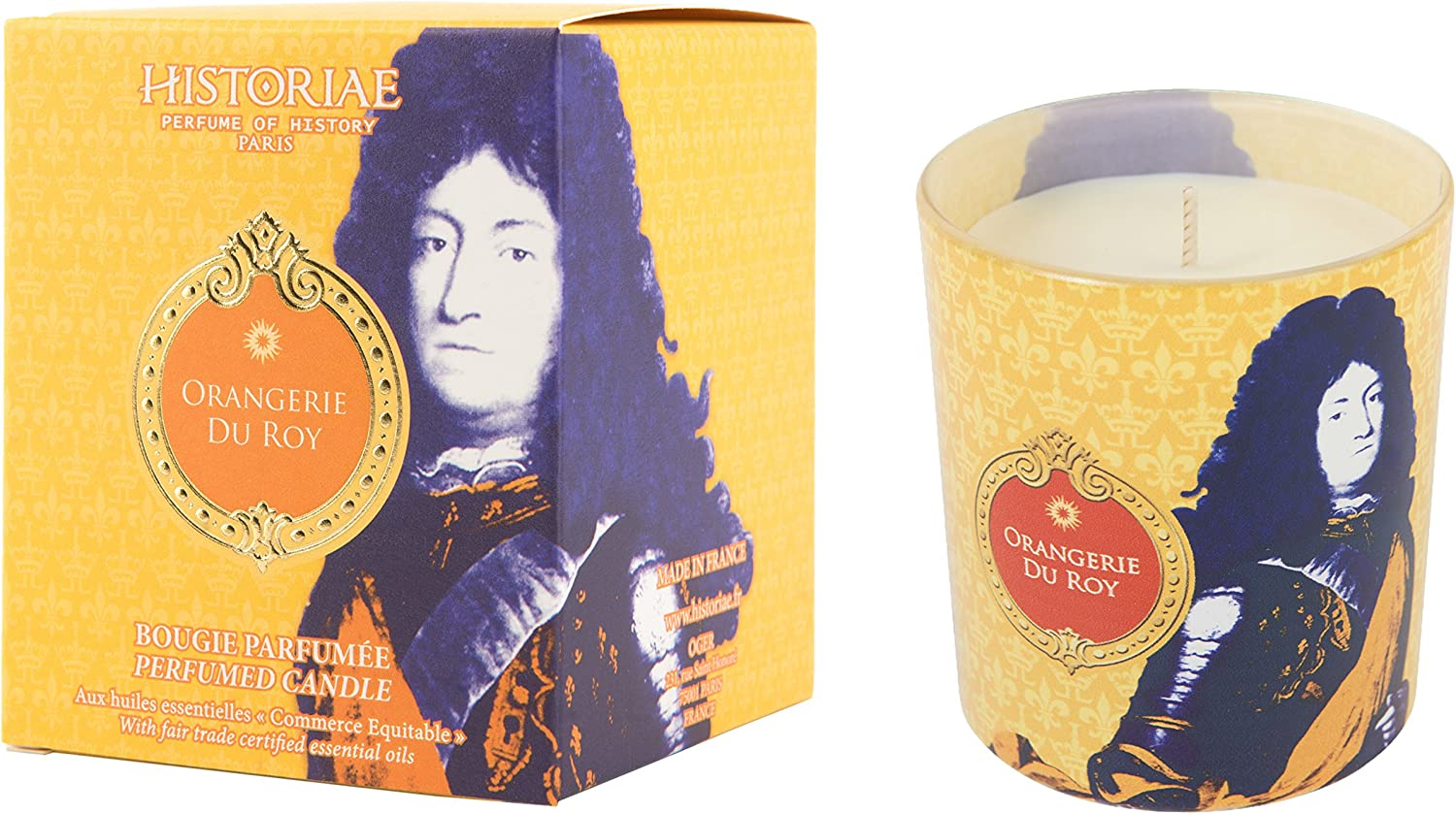 Historiae Pop Art Candle 190g orangerie du Roy