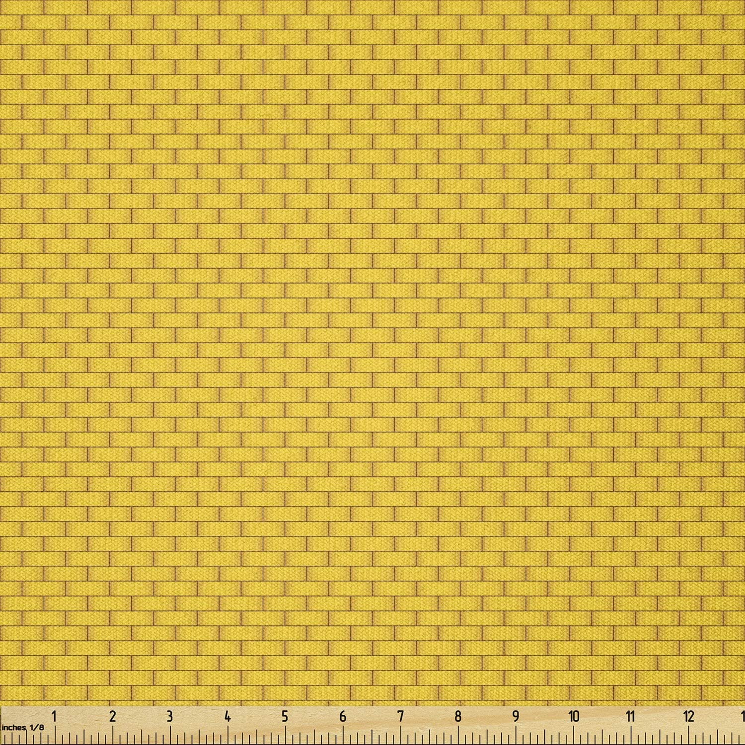 5% OFF Ambesonne Brick Fabric by The of Classic Yard Basi Store Illustration