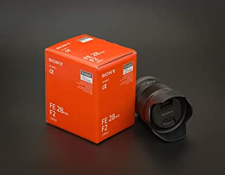 Sony FE 28mm f/2 Lens - International Version (No Warranty)