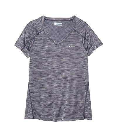 Columbia Zero Rulestm Short Sleeve Shirt (Nocturnal Heather) Women