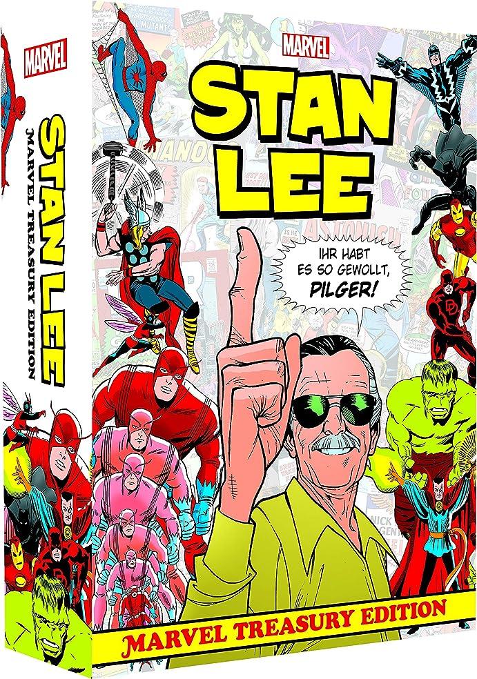 腹部段階スマートStan Lee: Marvel Treasury Edition: (Hardcover-Ueberformat im Schuber und bedruckten Umkarton)