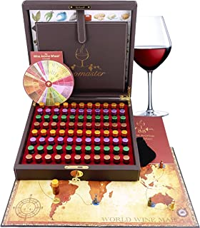 Master Wine Aroma Kit - 88 wine aromas (wine aroma wheel and board game included)
