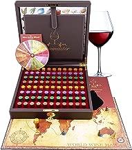 Master Wine Aroma Kit - 88 wine aromas (wine aroma wheel and board game included)