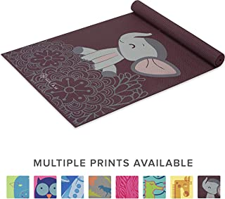 Gaiam Kids Yoga Mat Exercise Mat, Yoga for Kids with Fun Prints - Playtime for Babies, Active & Calm Toddlers and Young Children