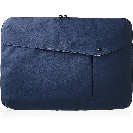 Amazon Basics - Funda para portátil, 38 cm, azul marino