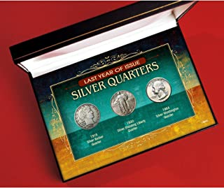 American Coin Treasures Last Year of Issue Silver Quarters Novelty