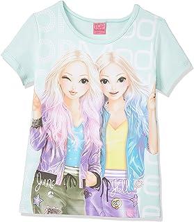 Top Model niñas T-Shirt, Camiseta, Menta