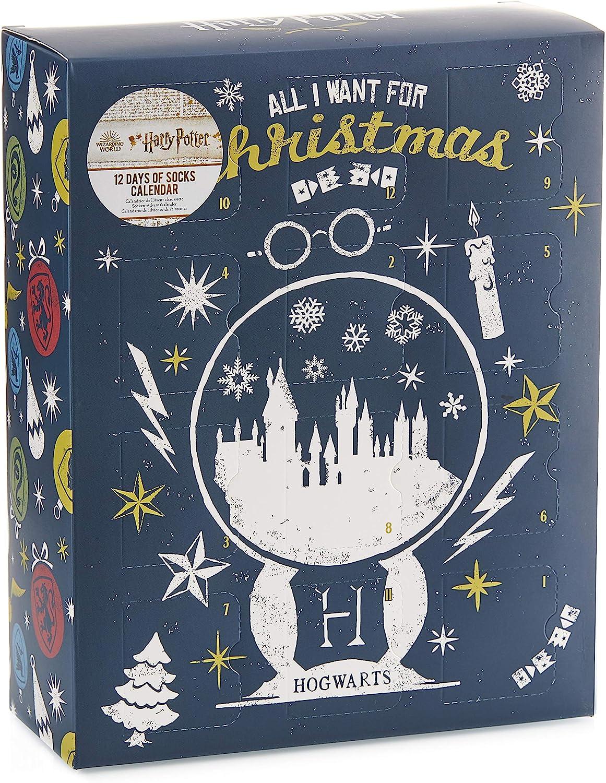 Paladone Harry Potter Sock Nashville-Davidson Mall Los Angeles Mall Advent - Officially Calendar Licensed