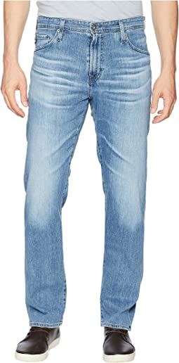 Ives Athletic Fit Jeans in Sandpiper