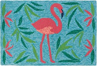 Company C Fancy Flamingo Synthetic Accent Rug 2'x3' Area, 0