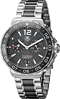 TAG Heuer Men's WAU111C.BA0869 Analog Display Quartz Silver Watch