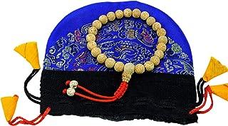 Tibetan Mala Lotus Seed Wrist Mala with Guru Bead for Meditation GMS-75