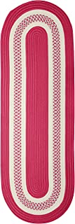 Colonial Mills Crescent NT72R024X072 Rugs, 2' x 6', Magenta Pink