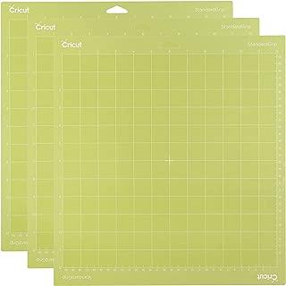 Cricut StandardGrip Cutting 12x12 3 Pack