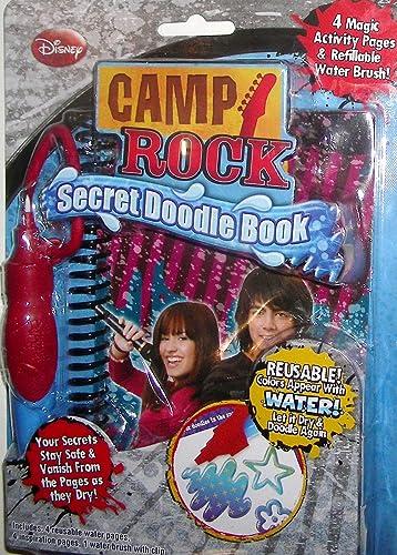Camp Rock Secret Doodle Book