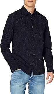 Scotch & Soda Men's Regular Fit - All-Over Printed Poplin Shirt