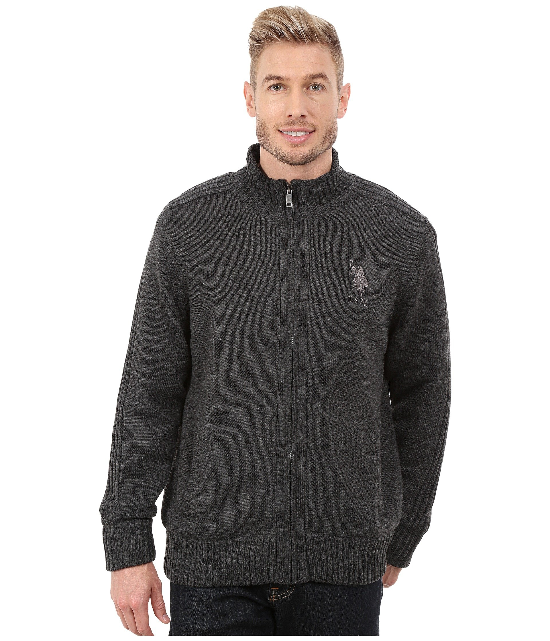 Sueter para Hombre U.S. POLO ASSN. Sherpa Lined Sweater  + U.S. POLO ASSN. en VeoyCompro.net
