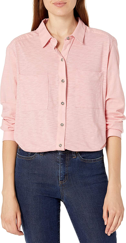 Vintage America Blues Women's Misha Tie Front Button Up Shirt