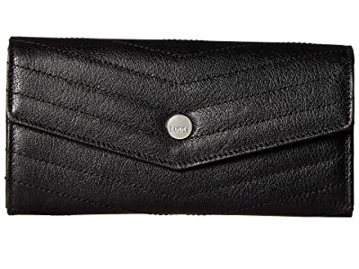 Lodis Accessories Carmel Luna Clutch Wallet (Black) Wallet Handbags