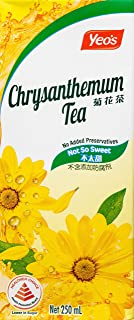 Yeo's Chrysanthemum Tea, 250ml (Pack of 6) packaging may vary