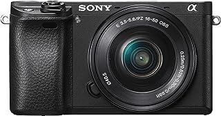 ソニー ミラーレス一眼 α6300 パワーズームレンズキット E PZ 16-50mm F3.5-5.6 OSS ブラック ILCE-6300L B