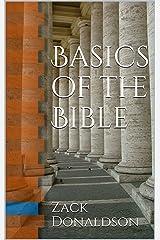 Basics of the Bible Kindle Edition