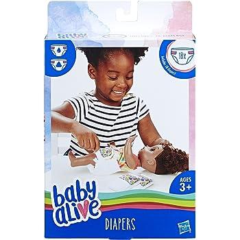 Baby Alive Diaper Refills (18 Pack)