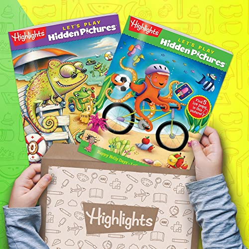 Highlights Hidden Pictures Club - Kids Hidden Pictures Subscription: AGES 36 BOX