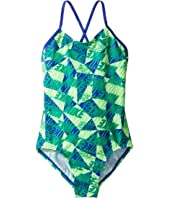 Nike Kids - Graphic Crossback One-Piece Swimsuit (Little Kids/Big Kids)