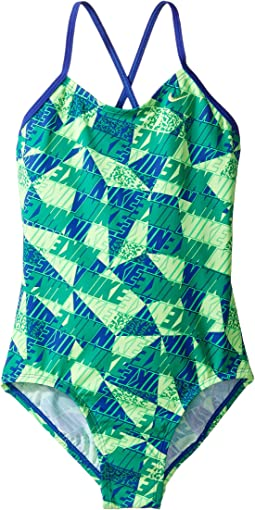 Graphic Crossback One-Piece Swimsuit (Little Kids/Big Kids)