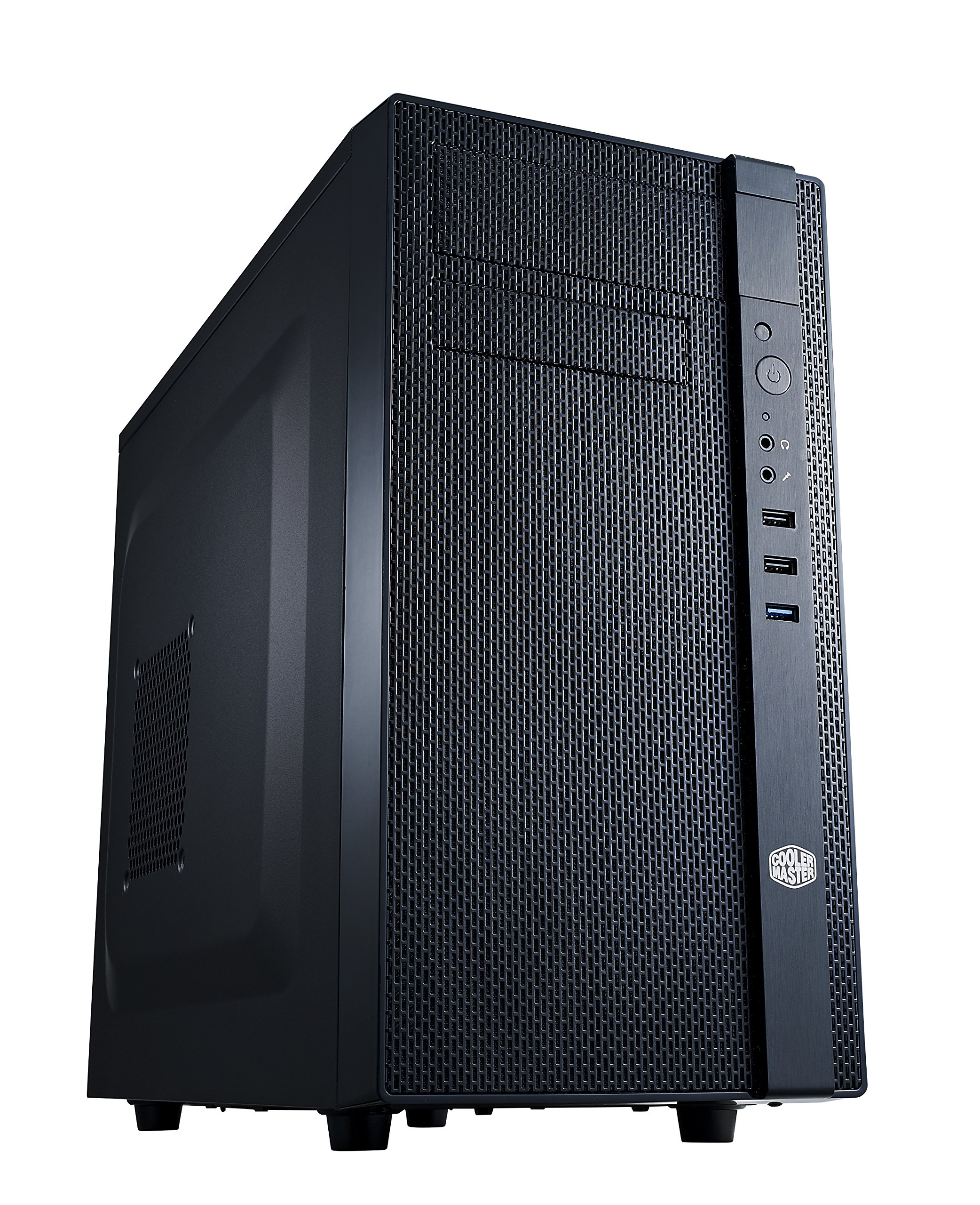Cooler Master N200 - Caja de Ordenador (Mini-Tower, PC, Micro-ATX, Mini-ITX, 0W, Fondo, 1x 120 mm): Amazon.es: Informática
