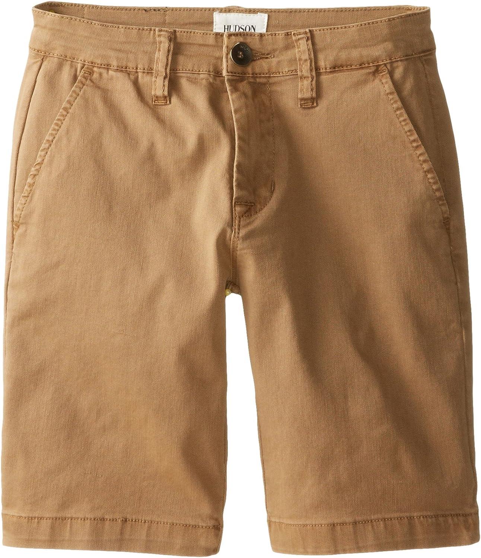 Hudson Jeans Boys' Chino Shorts in Bit Oh Honey (Big Kids)