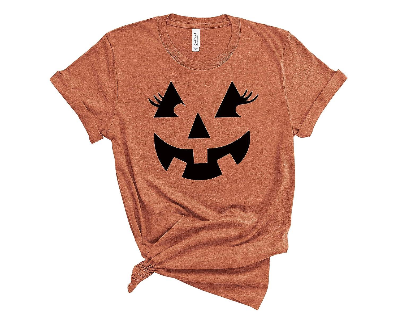 Deloach Couture Jack O Lantern Eye Co Pumpkin Lash Dedication Max 77% OFF Top T-Shirt