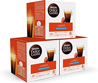 Nescafé Dolce Gusto capsules Lungo decafé - 48 koffiecups - geschikt voor 48 koppen koffie - Dolce Gusto cups