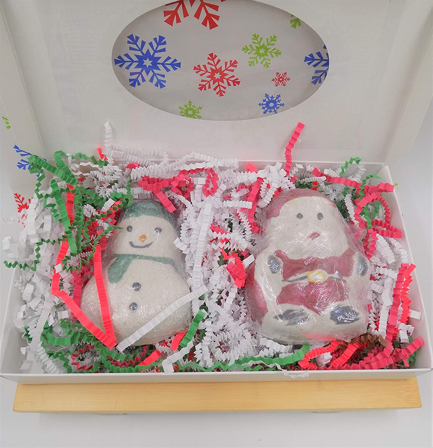 Santa Frosty Bath Bomb Gift Christmas Elf Set Sw Inventory New product! New type cleanup selling sale