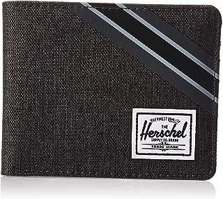 Herschel Roy Unisex Wallet, Black Crosshatch/Black