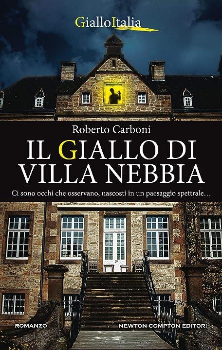 Il giallo di villa nebbia (italiano) copertina flessibile 978-8822736963