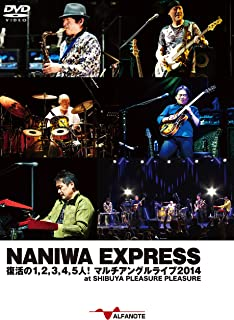 NANIWA EXPRESS 復活の1,2,3,4,5人! マルチアングルライブ2014 at SHIBUYA PLEASURE PLEASURE [DVD]