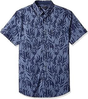 Ben Sherman Men's Ss Leafy Print Shirt