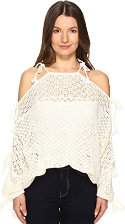 Lace Ties Sweater