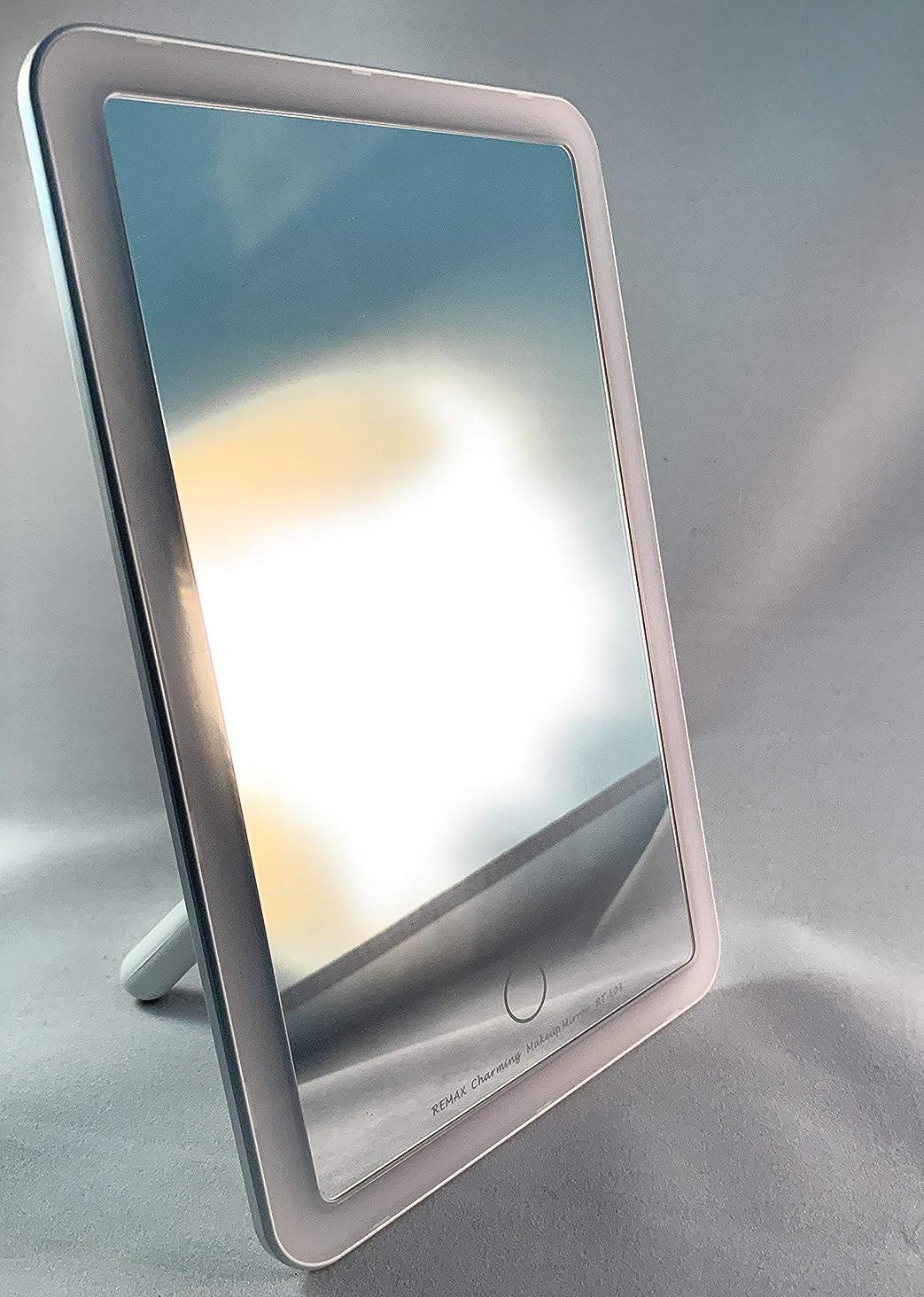 差別する責め求める女優ミラー LEDライト 卓上ミラー 化粧鏡