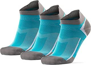 DANISH ENDURANCE Low-Cut Pro Ankle Running Socks, for Men & Women, Anti-Blister & Sweat-Wicking, Trainer, Light Weight, At...