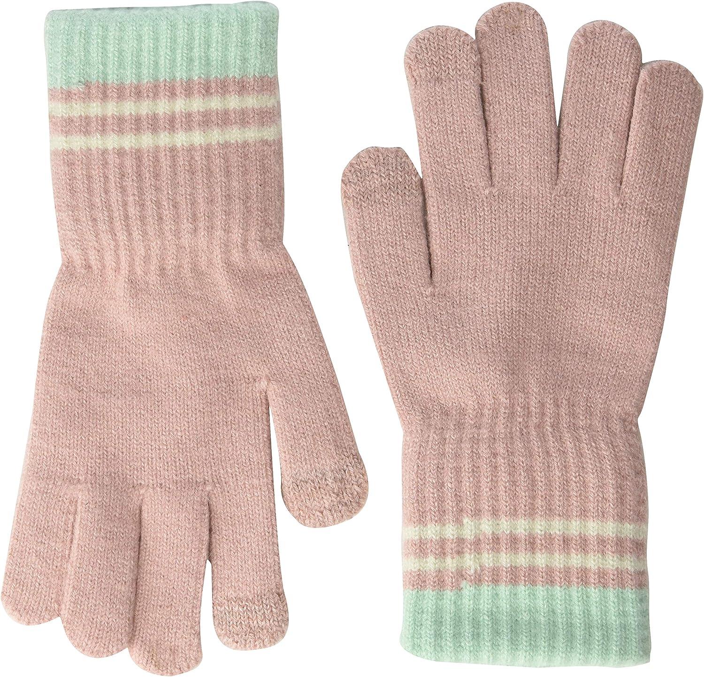 Steve Madden womens Women's Steve Madden Women s 3 Stripe Magic Glove, Blush, One Size US