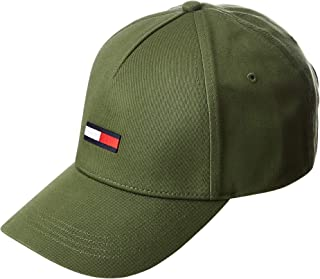 Tommy Hilfiger Men's TJM Flag Cap, Green, One size