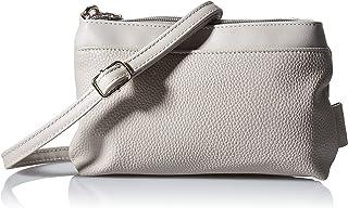 TOM TAILOR Denim Damen Arona Cross Bag, mid Grey, XS